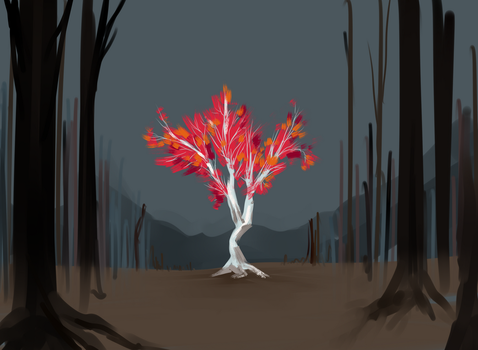 Sketches 1.1.2018 Tree by Metalforever