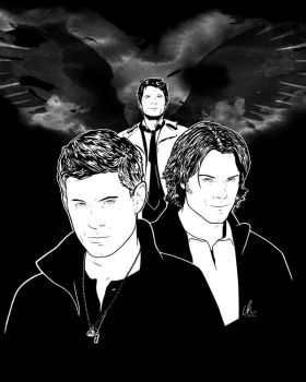 Supernatural - Winchesters by DynamixINK