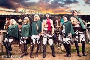 SNK Group by LadyDaniela89