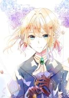 Violet Evergarden by Ricemo