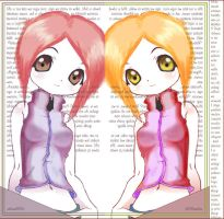 reflection girls by xelene