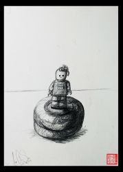 2 Objects Drawing by XLordAndyX