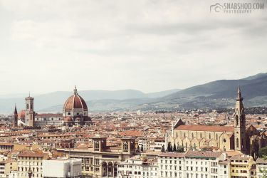 Above Firenze (Florence) by mystic-darkness