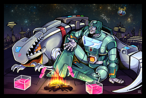 Kup and Grimlock by k-tack