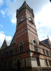 Manchester Crown Court Clock Tower by rlkitterman