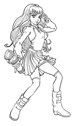 Lovely Grounded Faeriez_Uniform_outline by Noblewreck