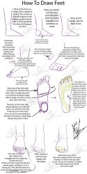 Tutorial - How to Draw Feet by Micky-K