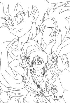 new generation lineart by BK-81