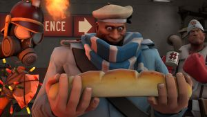 [Serious Face Maker] Baguette. by RayDraca