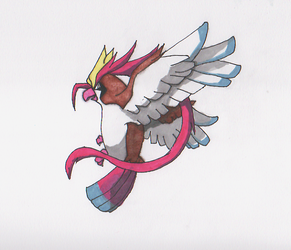 Mega Pidgeot by willy5000
