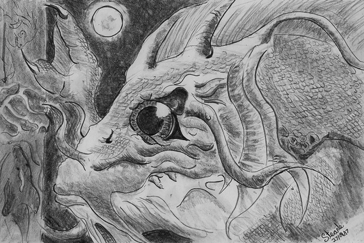 Lovecraft's Dagon by SulaimanDoodle