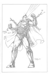 Superman Unchained by anthonymarques