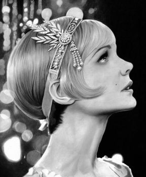 Carey Mulligan - Daisy from The Great Gatsby by cfischer83