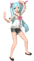 Project Diva Arcade - Shiny Miku module. by Mil-O