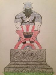 Captain America #4 Out of Time by StreifSketches