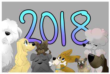 Year of the Doggo- 2018 by trujayy