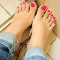 Barefoot in jeans 2 by mickey515