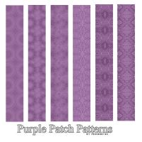 Purple Patch Pattern Set by AlenaJay
