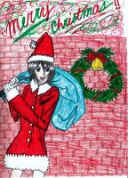 Rukia - Christmas by Chaos-Angel142