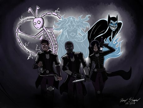 Spirits by Harry-Monster