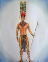 Amun Ra - Commission by MyWorld1