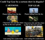 Top Gear Vs. Cartoons by MattX125
