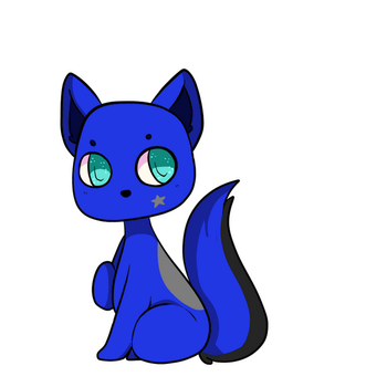 Chibi raffle prize 1  for cosmicsol by Littlelostdemonchild