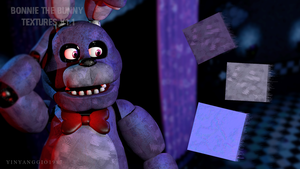 C4D|FNAF|Textures|Bonnie The Rabbit Textures V1.1 by YinyangGio1987