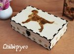 Wooden Box Dog [commission] by ChibiPyro