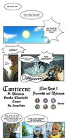 Conticent Classlocke: Main Quest 1 by Jonquilladin