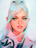 Nima Sketch by rossdraws