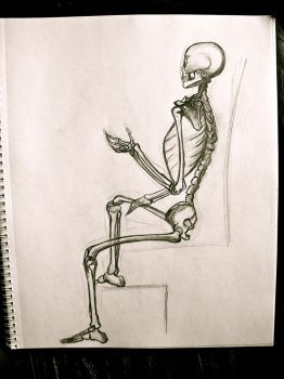 Seated Pose by NotLockedUp