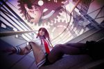 Steins Gate-Wheel of fortune by Sakina666