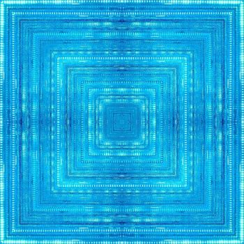 Electric Blue Square by lordyupa