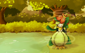 AT : Lilligant