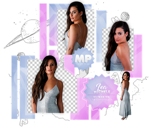 PACK PNG 1094| LEA MICHELE by MAGIC-PNGS