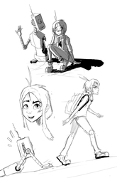 More tammy doodles by Nayolfa