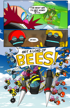 Bee Eggman by luckettx