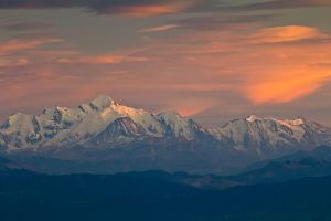 Mt. Blanc Sunset by cwaddell