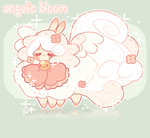 [CLOSED!] Flufferbun - Angelic Bloom - Auction by plushpon