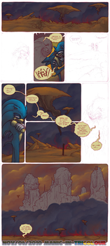The Unknown Zone - test pages by manic-in-tricolour