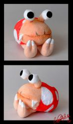 Bulborb plushie by Eyes5