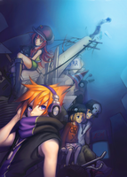Another day - TWEWY zine submission by Dagneo