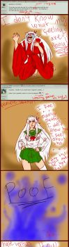 Ask Inuyasha: ALL THE FEELZ by unknownpicture