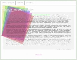 Journal Skin: Swatch This by DeviBrigard