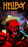 Hellboy in Mexico by CHUBETO