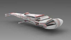 star wars b-wing star fighter concept by Republic2033