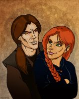 Vicente and Zarissis by SlayerSyrena