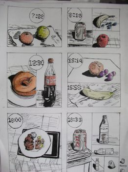 Visual food-diary by RuthFruit