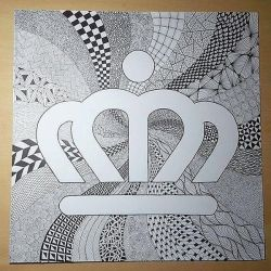 Charlotte Crown Zentangle by imthelatvian